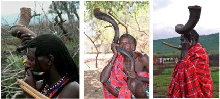 kenyan israelite shofar horn jews