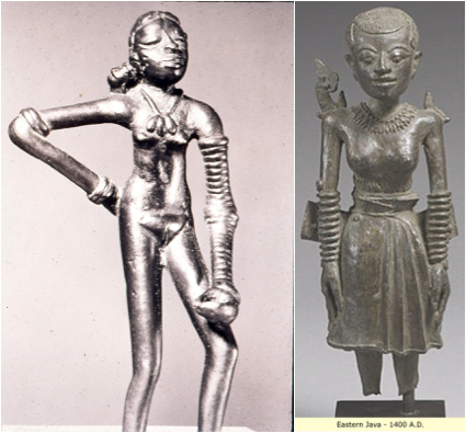 dancing girl of mohenjo daro