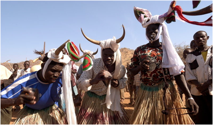 Kadugli-Nuba People of Sudan, Africa