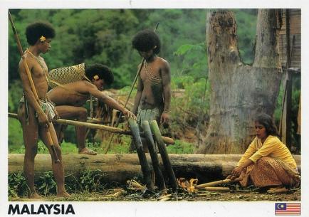 Semang-Negroid-Negrito-Australoid-Malaysia