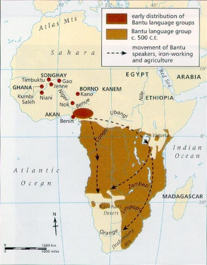 bantu migration from west africa