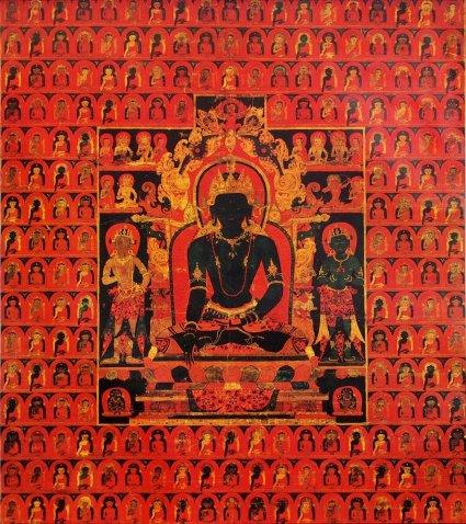 'The_Dhyani_Buddha_Akshobhya',_Tibetan_thangka,_late_13th_century,_Honolulu_Academy_of_Arts