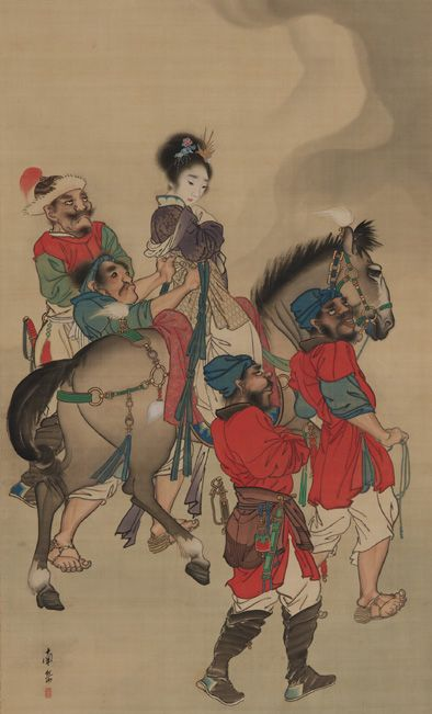 Yang Guifei's Abduction, 18th-19th Century