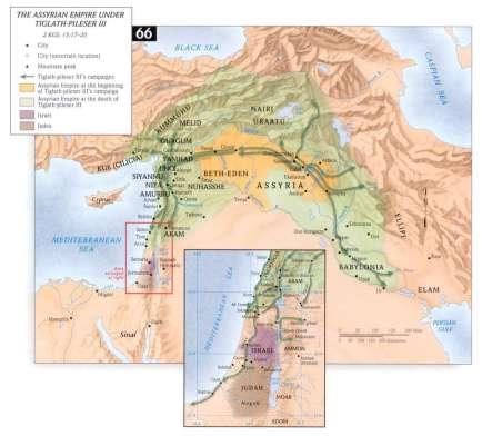 assyrian empire under tiglath piles iii 2 kings 15