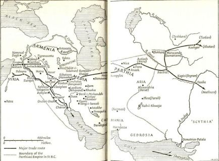 from samaria to assyria to the east