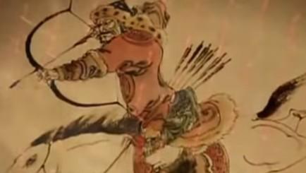 Genghis-Khan mongolian scythian archer