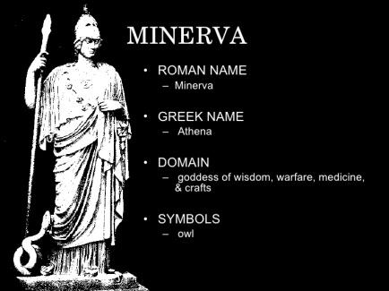 greco-roman goddesses athena minerva
