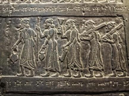 black obelisk israelite captivity migration