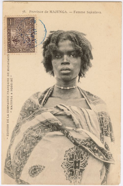sakalave woman from madagascar
