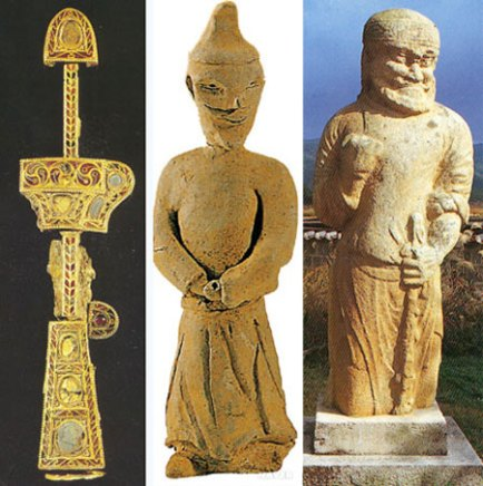 Are Silla Kingdoms Royal roots in Central Asia?