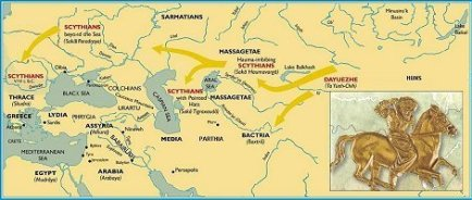 scythian migration into europe