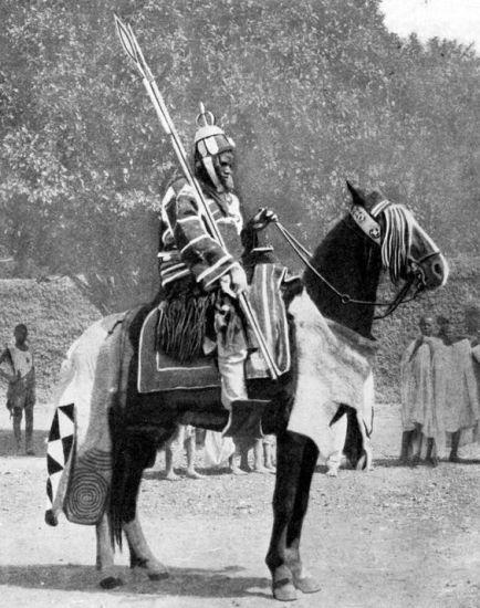 mounted african scythian calvary