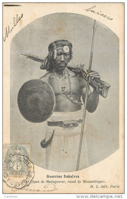 sakalava warrior madagascar