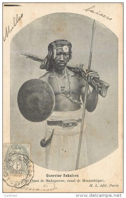 sakalava warrior madagascar