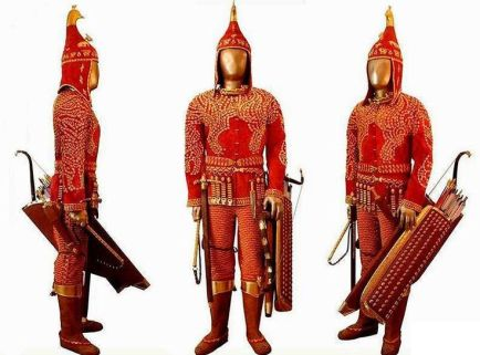 scythian outfit
