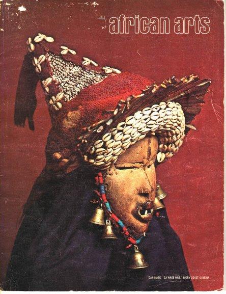 african arts magazine cover UCLA african scythians