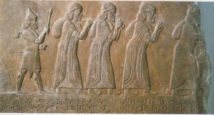 assyrians captivity of northern tribes of israel