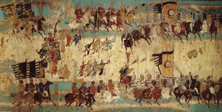 dunhuang black scythian chinese army