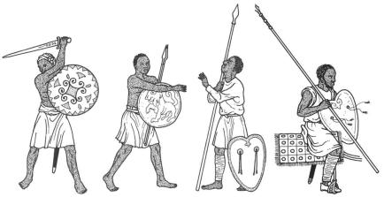 Feudal Negro Soldiers