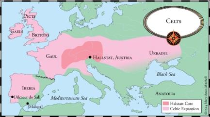 1200bc Celts hallstatt culture