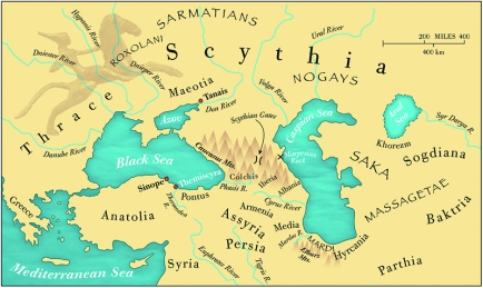 scythian map