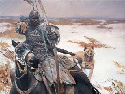 black mongolian archer