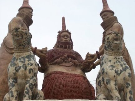 yoruba oba ruler king compared to golden berlin hat