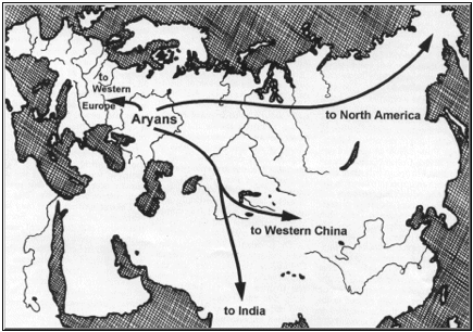 The Aryans were the Scythians