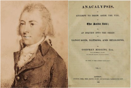 godfrey higgins author of anacalypsis referenced by madame helena petrovna blavatsky