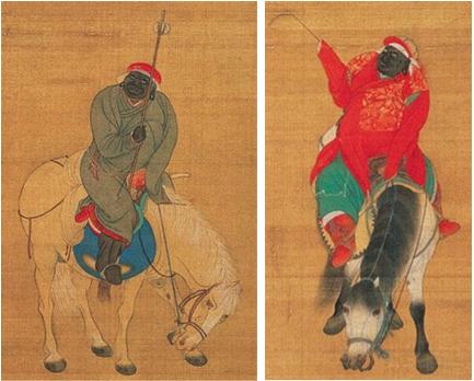 black mongolians kara khitan black tartars
