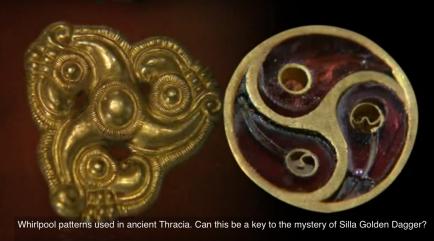 thracian and korean whirlpool pattern