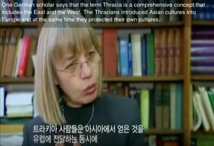 german scholar thracia korea scythian connection