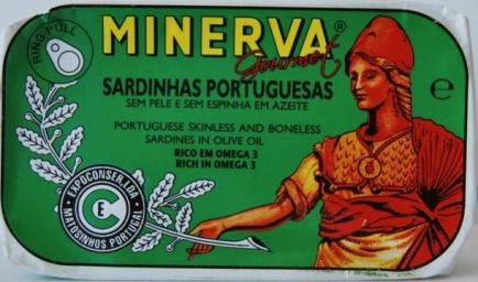 Minerva portuguesas sardinhas