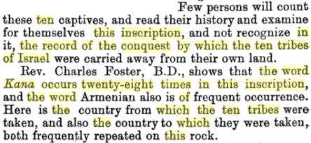 Anglo-Israel: Or, The Saxon Race, Proved to be the Lost Tribes of Israel., By William Henry Poole, PG 437