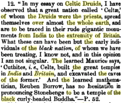 druids were priest from india connected to buddhism