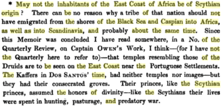 Memoir Respecting the Kaffers, Hottentots, and Bosjemans, of South Africa Volume 2, by Lieutent Colonel Sutherland, PG 511