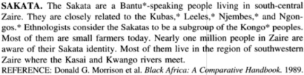 The Peoples of Africa: An Ethnohistorical Dictionary, By James Stuart Olson, PG 505