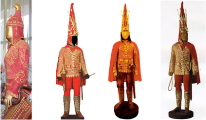 compare benin nigeria to royal scythian 4