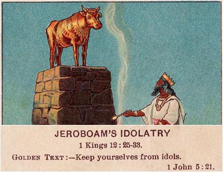 jeroboam's idolatry