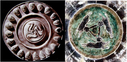 thracian and buddhist triskele triskelion