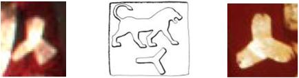 triskele triskelion assyrian royal seal