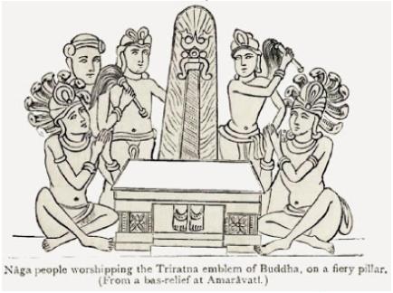 triratna symbol of buddha