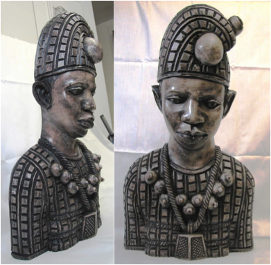 nigerian figure with phrygian cap