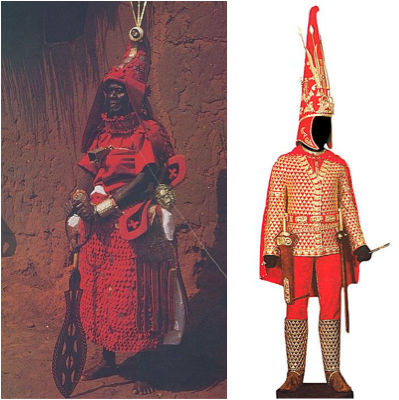 compare benin nigeria to royal scythian 1