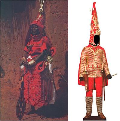 compare benin nigeria to royal scythian 1
