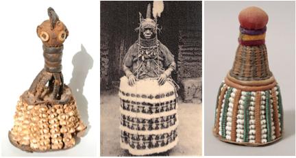yoruba oba ruler shape as ori inu and stupa