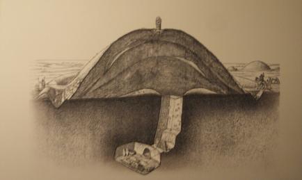 scythian burial mound stupa