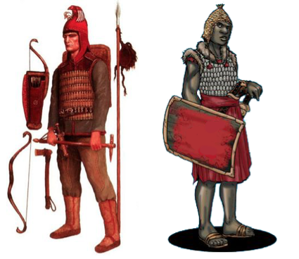 scythians red military