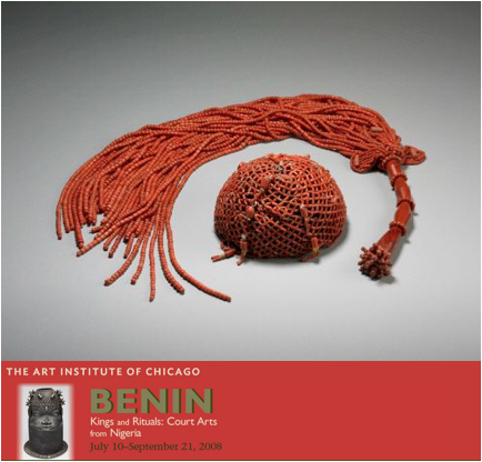 benin art institute of chicago showcase