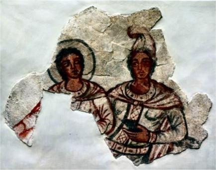 sol-and-mithras-in-a-fresco-from-the-middle-mithraeum-at-dura-europos-syria-ca-210-ce